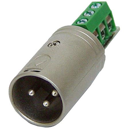 Rolls XLM113 3-Pin XLR Male to Barrier Strip Test Plug