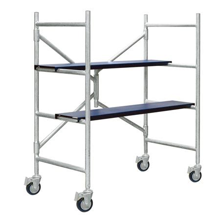 Xtend & Climb IMAC 4 Ft. Aluminum Scaffolding with Wheels