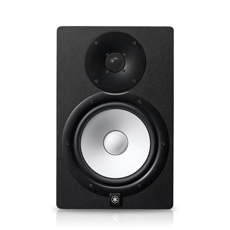 Yamaha HS8I 2-Way Bass-Reflex Bi-Amplified Powered Studio Monitor with 8 Inch Cone Woofer - Black