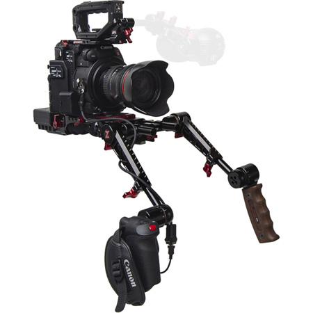 Zacuto Z-C2R-PDG C200 Recoil Pro with Dual Trigger Grips