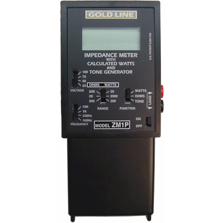 Gold Line ZM-1P Impedance Meter Plus Protection Relay