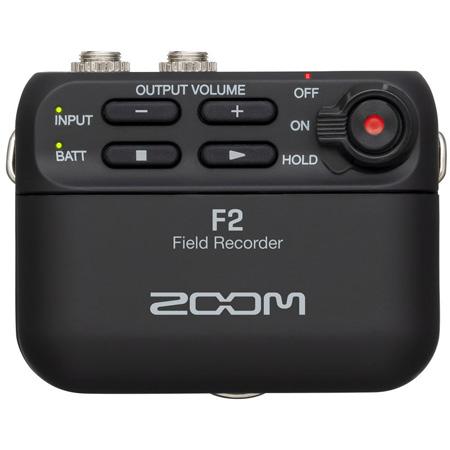 ZOOM F2 Light and Compact Field Recorder - 32-Bit Float Recording Full Dynamic Range - 44.1kHz/32-bit / 48kHz/32-bit