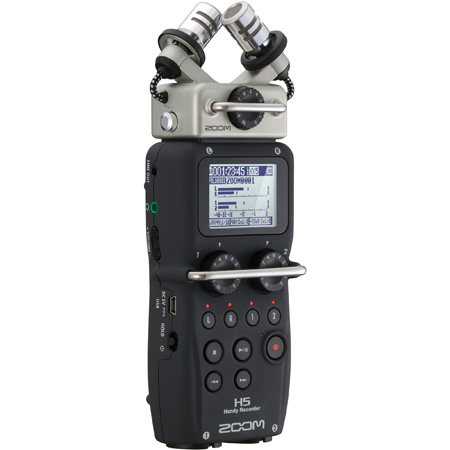 ZOOM H5 4-Track Portable Digital Audio Recorder