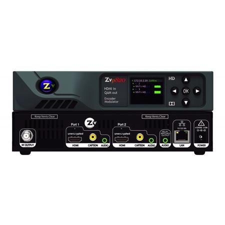 ZeeVee ZVPRO820-MX Dual Channel Digital Unencrypted HDMI Encoder