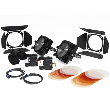 Zylight 26-01061 F8-200 Daylight Dual Head ENG Kit - Gold Mount
