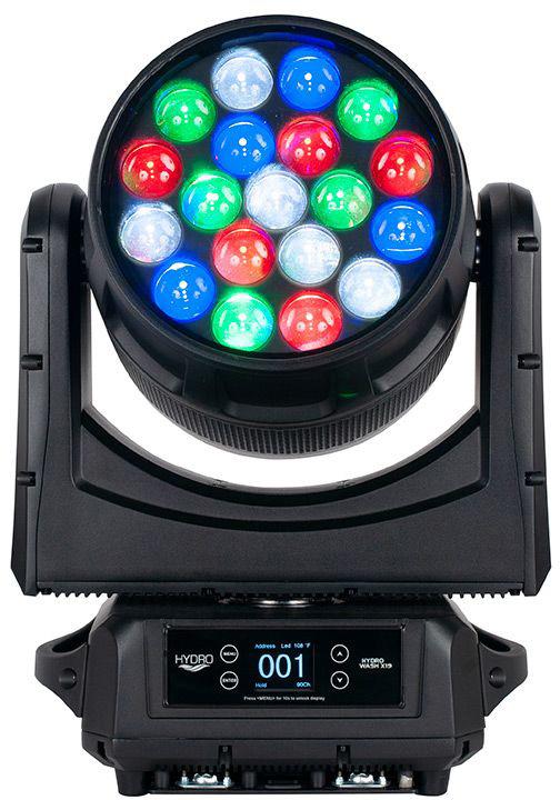 ADJ HYDRO WASH X19 760W LED IP65 Outdoor Rated Moving Head - Indoor & Outdoor Use AMDJ-HYD190