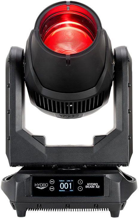 ADJ HYDRO BEAM X2 IP65 Rated Pro Moving Head Fixture with 370W Osram Sirius HRI/6000 Hour Discharge Lamp - 3 Deg Beam AMDJ-HYD210