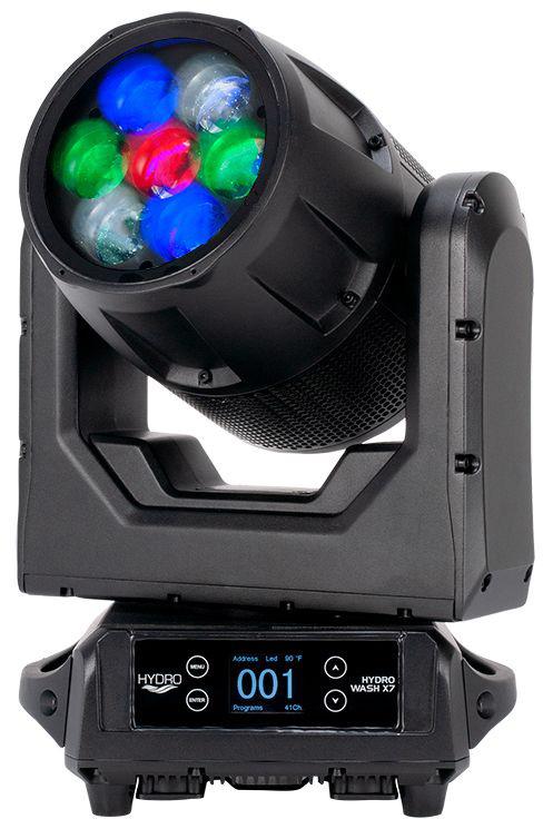 ADJ HYDRO WASH X7 280W LED IP65 Outdoor Rated Moving Head - Indoor & Outdoor Use AMDJ-HYD710