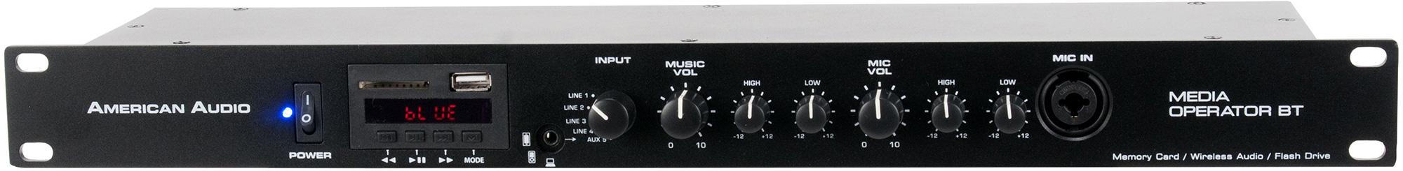 ADJ MED155 Media Operator All-in-One MP3/Wireless Audio Media Player AMDJ-MED155
