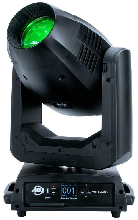 ADJ VIZ870 Vizi CMY300 300Watt LED Hybrid Motorized Moving Head AMDJ-VIZ870