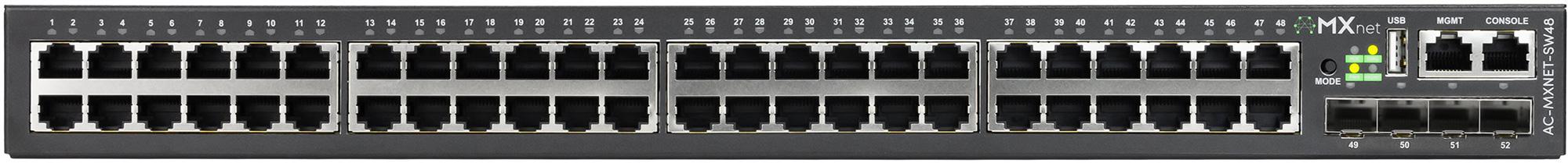 AVPro Edge AC-MXNET-SW24 Copper PoE Network Switch - 48 Ports APR-AC-MXNETSW48