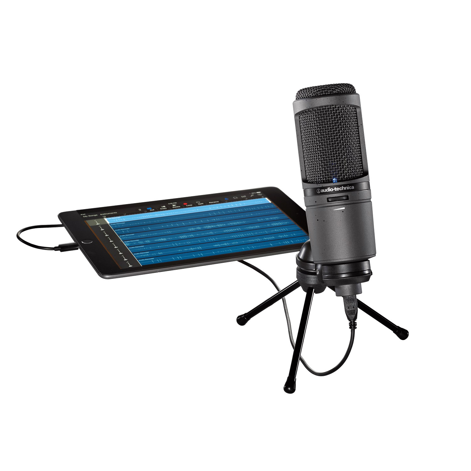 audio technica at2020usbi cardioid condenser microphone. Black Bedroom Furniture Sets. Home Design Ideas
