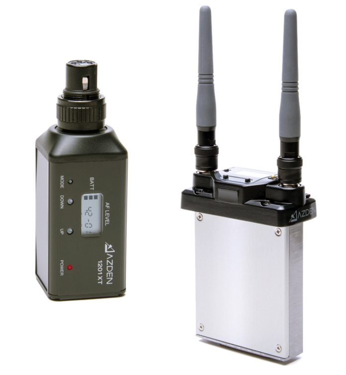 azden 1201six uhf wireless system with 1201xt plug in xlr transmitter. Black Bedroom Furniture Sets. Home Design Ideas