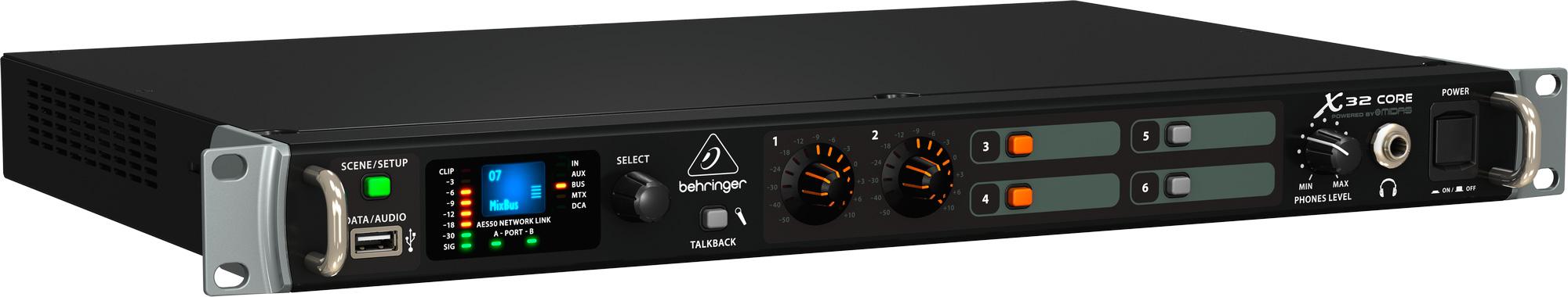 Behringer X32 Core AES50 Rack Mixer