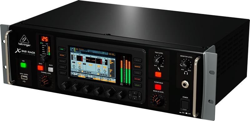 behringer x32 rack 40 channel digital rack mixer