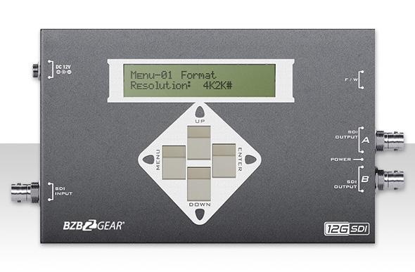 BZBGear BG-SDITPG 12G/6G/3G/HD/SD-SDI Video Pattern Generator  BG-SDITPG