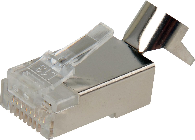 Belden Hipmprj45cat6gc Rj45 Category 6 Shielded Plug W  Grounding Tabs