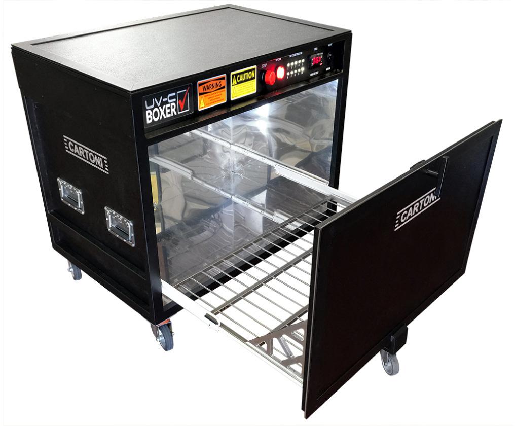 Cartoni UV-C BOXER Equipment Disinfecting Device for Film and Video CAR-UV-C-BOXER