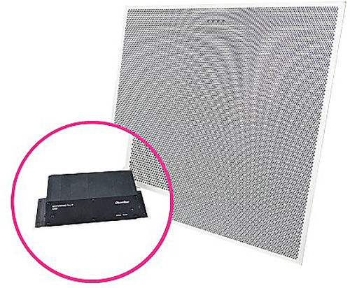 ClearOne COLLABORATE Versa Lite CT USB Expander/BMA-CTH 24IN Ceiling Tile Beamforming ClearOne Microphone Array w/PoE CL1-930-3200-010