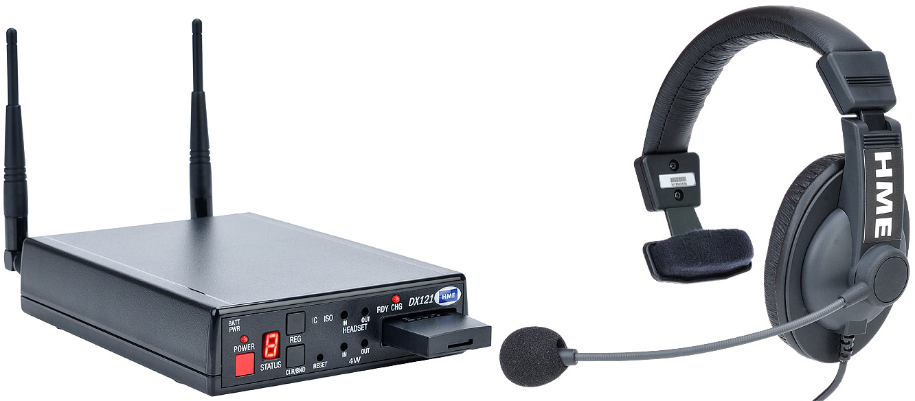 Clear-Com CZ11462 DX121 System w/ HS15 Headset