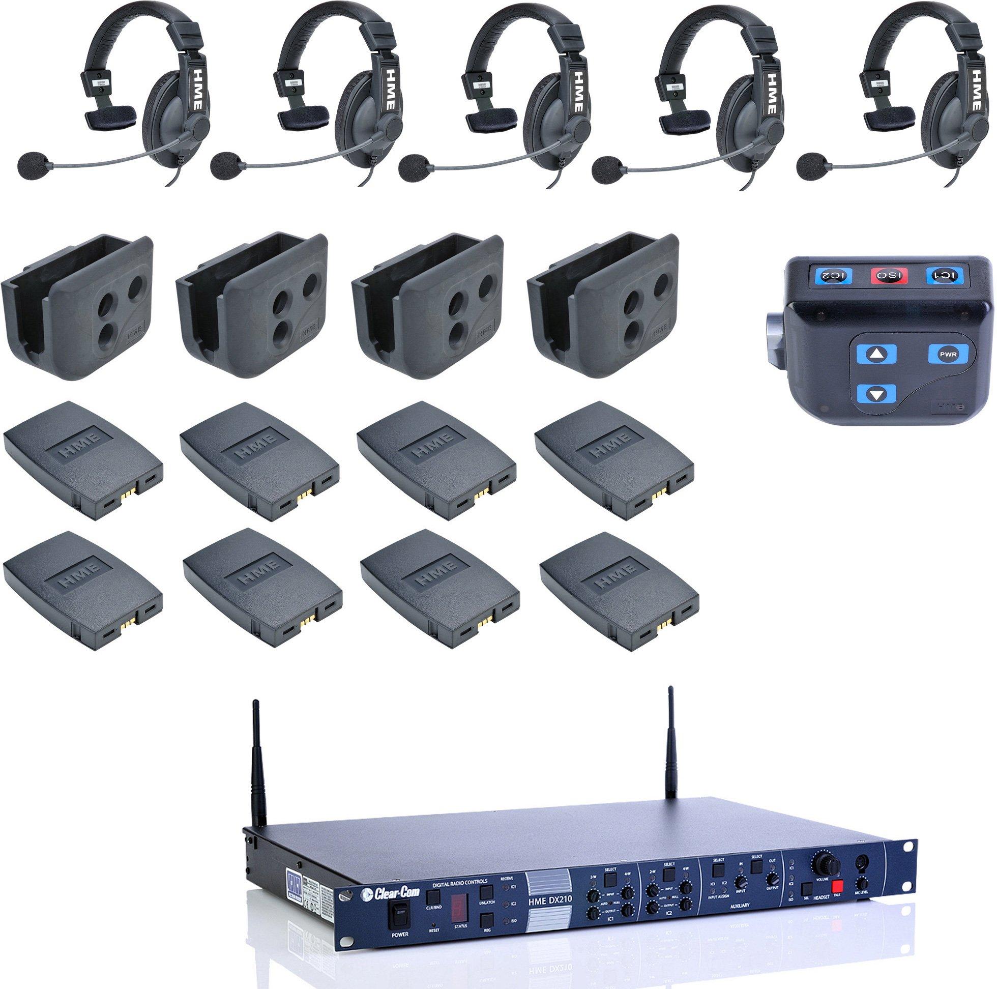 e94357c6434 ... HME DX210 Intercom System with HS15 Intercom Headsets. Zoom
