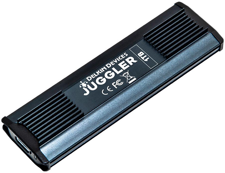 Delkin DJUGBM1TB JUGGLER™ USB 3.2 Type-C SSD - 1050MB/s Read - 1000MB/s Write - 1TB  DELK-DJUGBM1TB