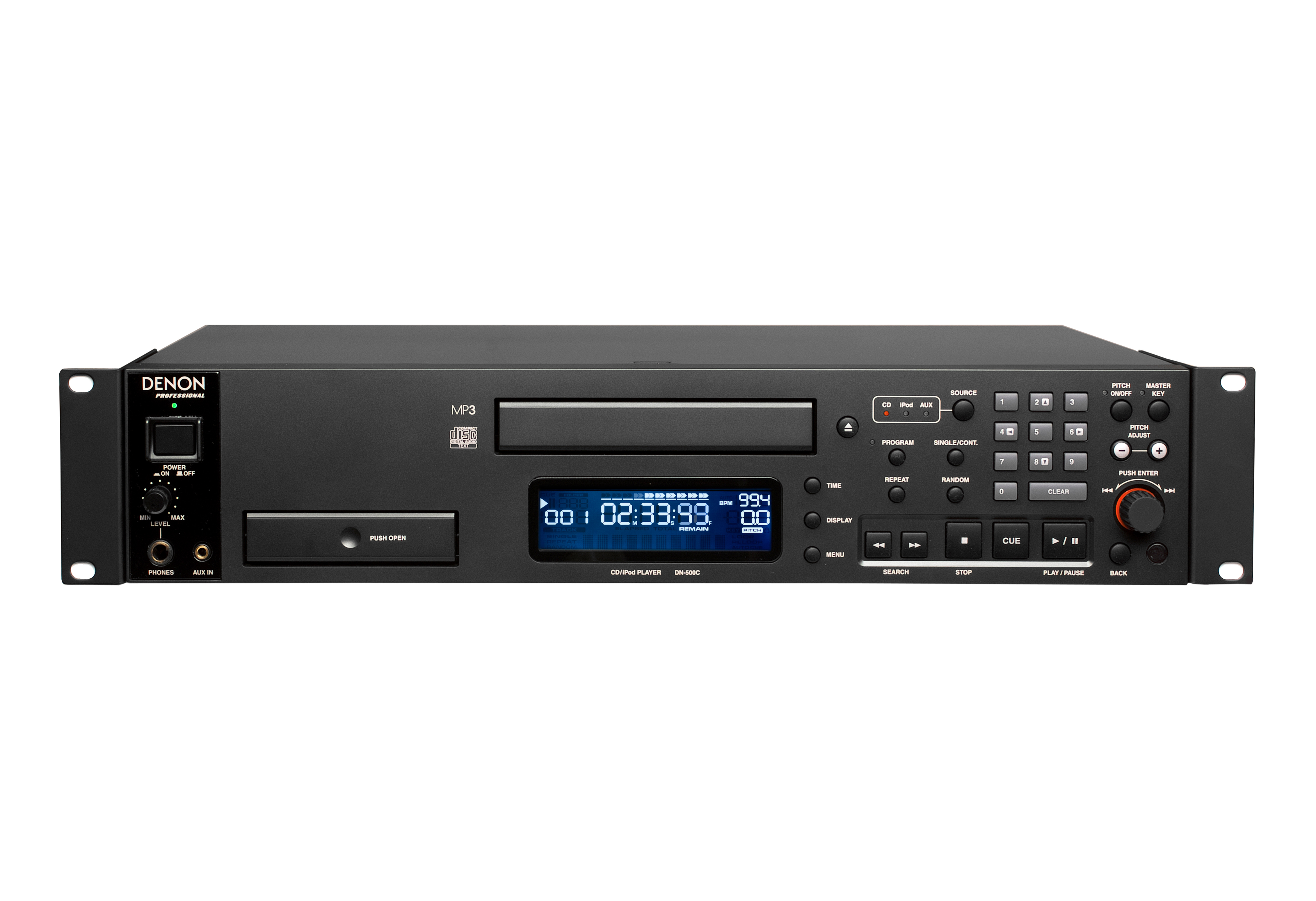 denon dn 500c cd player with integrated ipod dock. Black Bedroom Furniture Sets. Home Design Ideas
