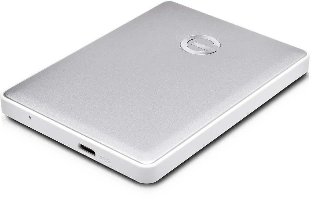 SanDisk Professional G-DRIVE Mobile USB-C Portable Hard Drive - 4TB - Aluminum Finish  0G10348-1