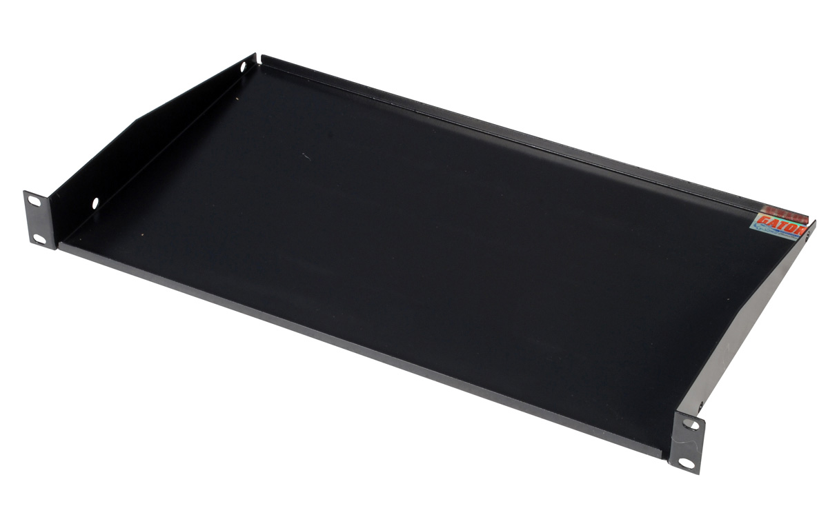 gator grw shelf1 rackworks utility shelf 10 inch deep 1u. Black Bedroom Furniture Sets. Home Design Ideas