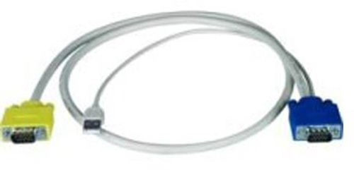 NTI HDUSBVEXT-15-MM VGA to VGA plus USB Cable - Male to Male - 15 Ft  HDUSBVEXT-15-MM