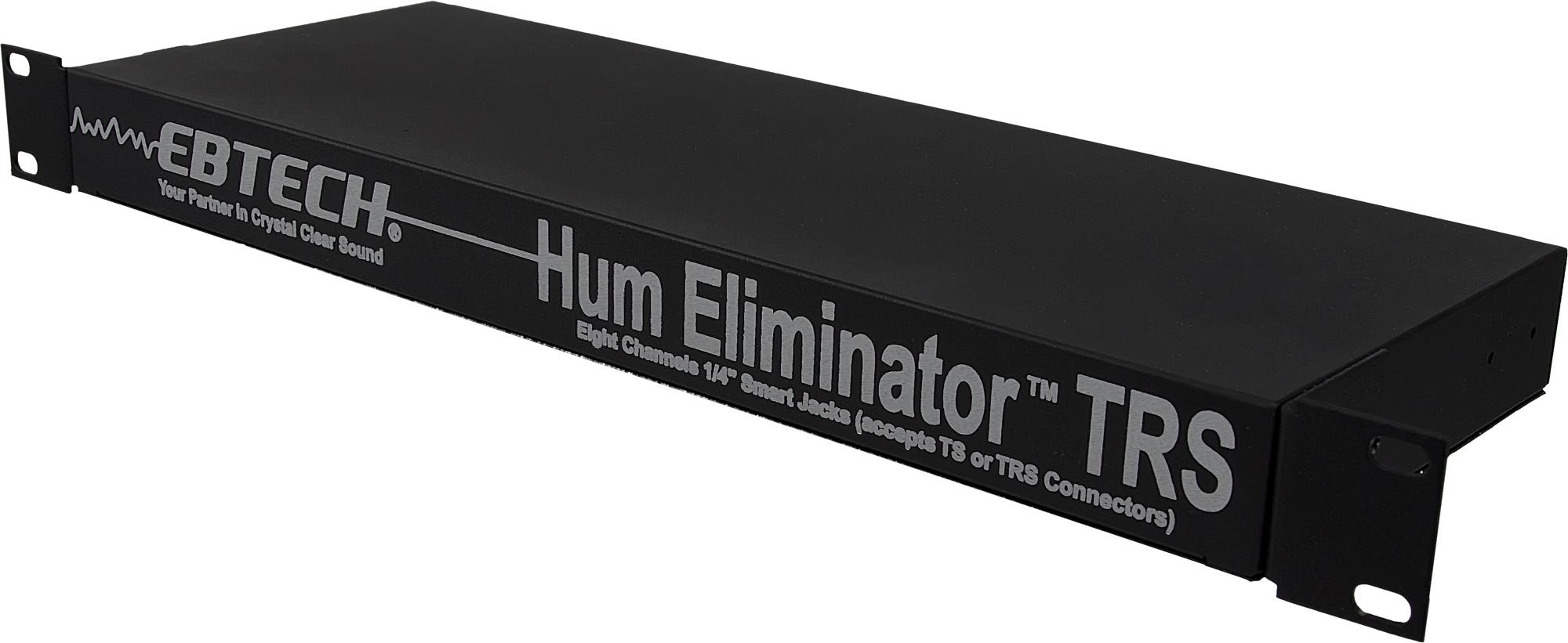 Ebtech HE-8 8-Channel SingleRU Hum Eliminator w/1/4in Smart Jacks HE-8