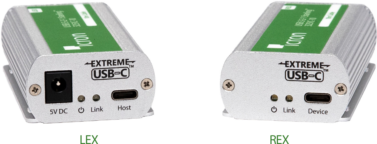 Icron 3251C-10 1 Port USB 3-2-1 USB-C 10m Extender - CM Cable ICR-3251C-10