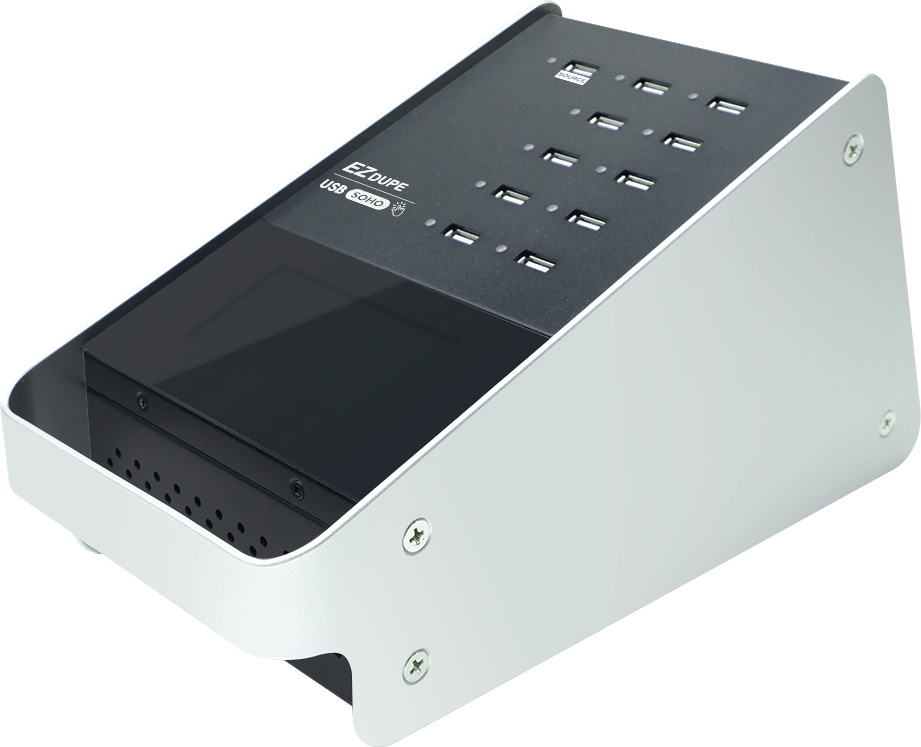 EZDupe DM-FU0-11V10TP 10-Target SOHO Touch Screen USB Duplicator ILY-DMFU011V10TP