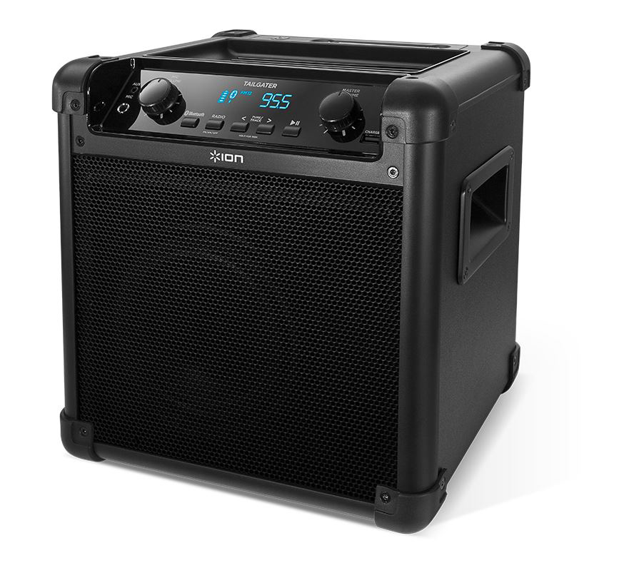 Ion Audio Tailgater Ipa77 Bluetooth Wireless Rechargeable