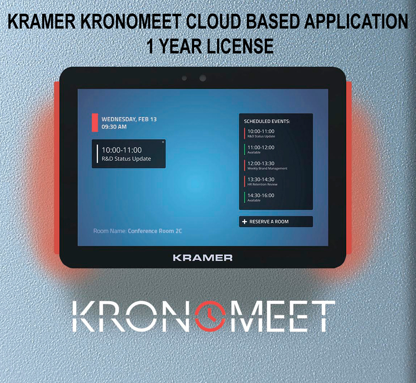 Kramer KRONOMEET-SW-EXT-1Y Software Extension for 1 Year  KR-KROMEETSWEXT1