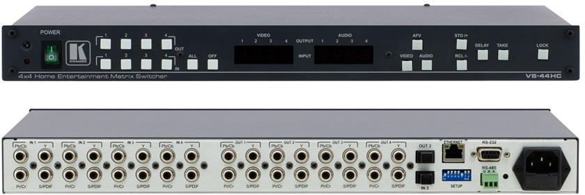 kramer 4x4 hdmi matrix switcher manual