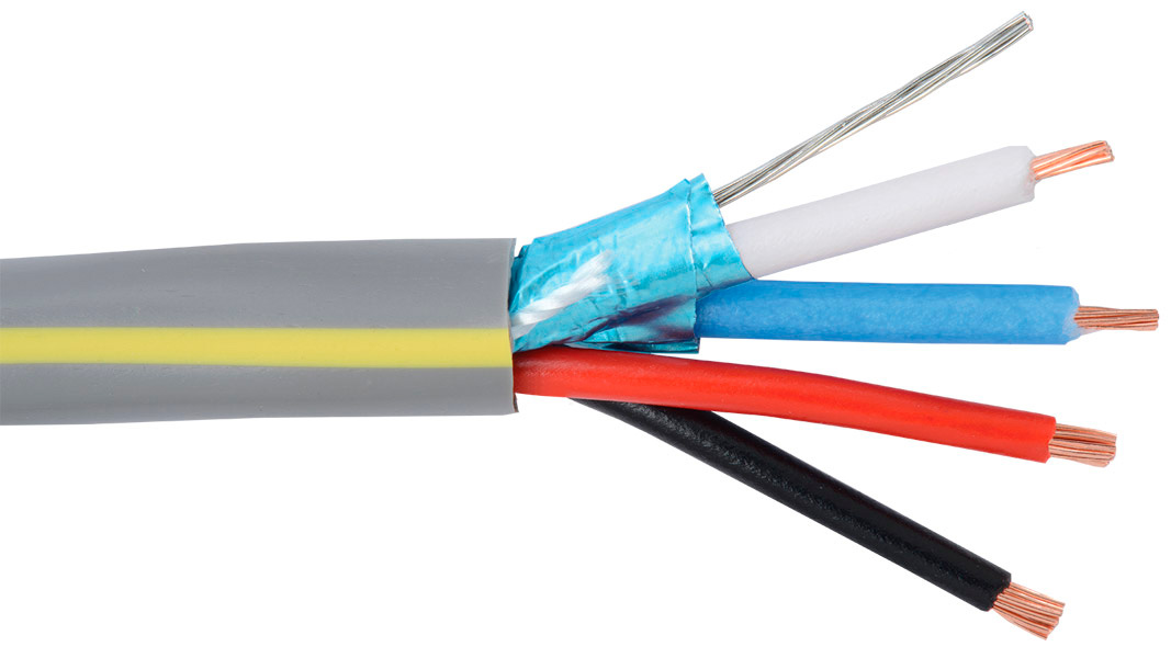 Cable 2pair Pvc : Liberty llinx u pvc control cable awg pair shielded