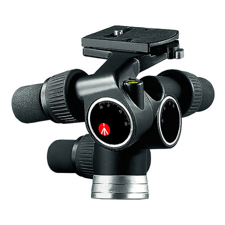 Manfrotto 405 Pro Digital Geared Head w/RC4 Rapid Connect Plate 410PL