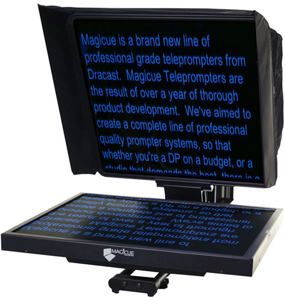 MagiCue MAQ-STUDIO17K 17 Inch Teleprompter with Hard Case