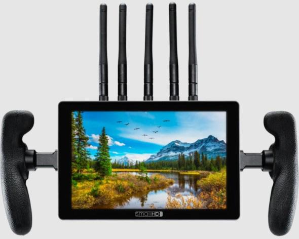 SmallHD MON-702-TOUCH-BOLT-4K-VM 702 Touch Screen Monitor with Bolt 4K Receiver - V Mount MON702TCHBLT4KVM