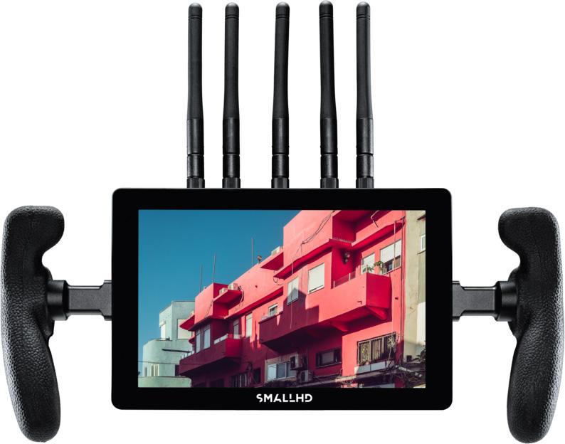 SmallHD MON-CINE7-BOLT4K-VM Cine 7 Production Monitor with Bolt 4K Receiver - V-Mount MONCINE7BOLT4KVM