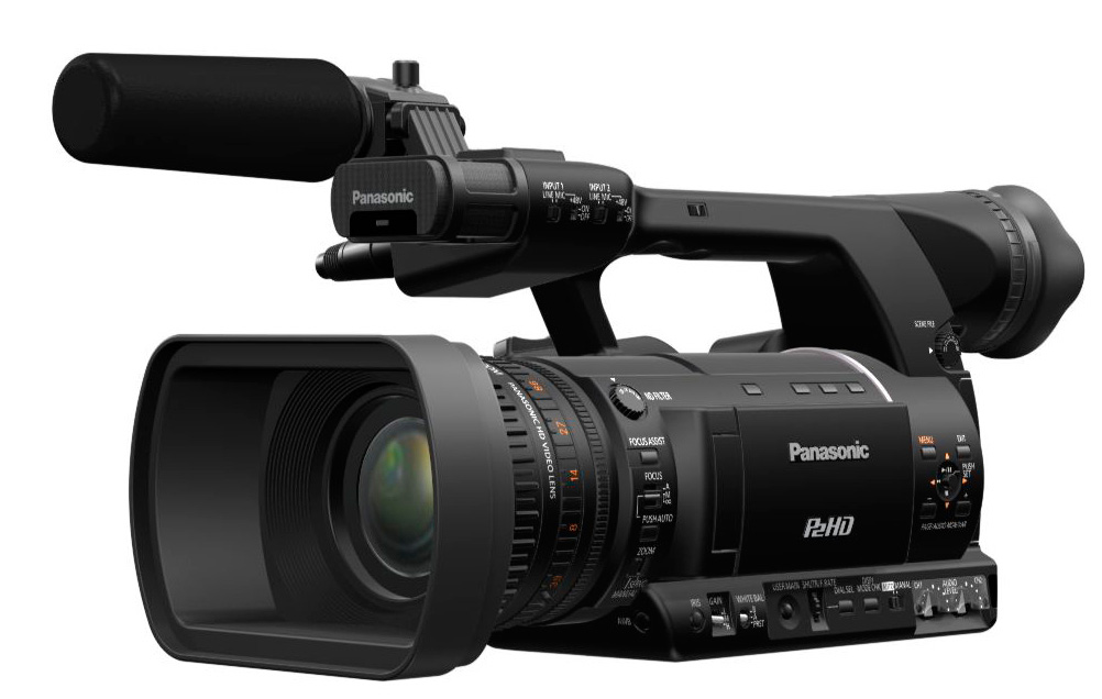 panasonic ag hpx255 p2 hd handheld camcorder. Black Bedroom Furniture Sets. Home Design Ideas