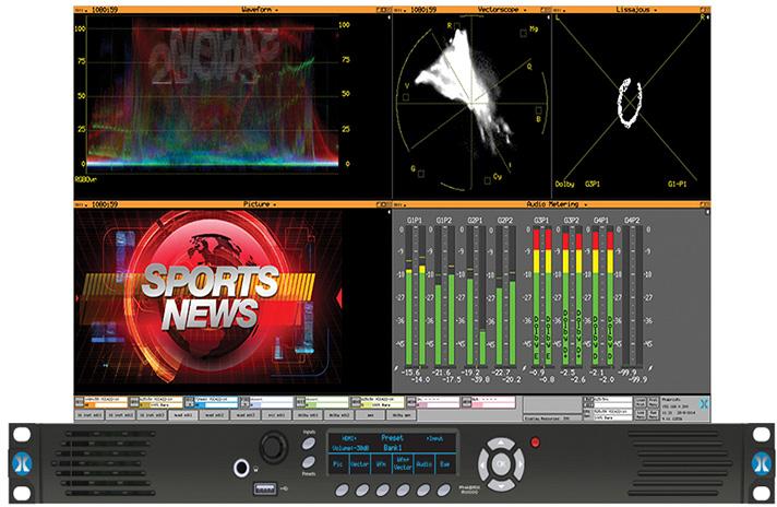 Phabrix PHRX1000AG Rx 1000 (1RU) with 1 x Channel Analyzer/Generator Module (HD/SD-SDI & Embedded Audio)  PHRX1000AG