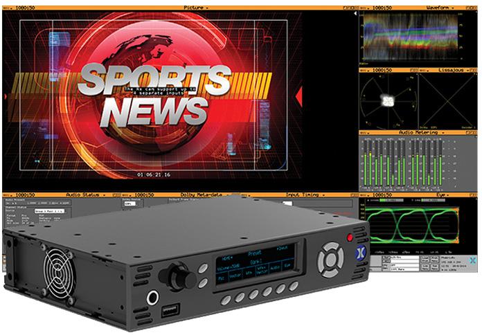 Phabrix PHRX500AGE Rx 500 (1/2 RU) with 1 x Channel Analyzer/Generator Module plus Eye/Jitter Analysis  PHRX500AGE