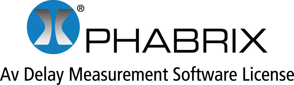 Phabrix PHRXO-AVD AV Delay Analyzer Software License - Supports EBU and LAWO AV Delay Sequences  PHRXO-AVD