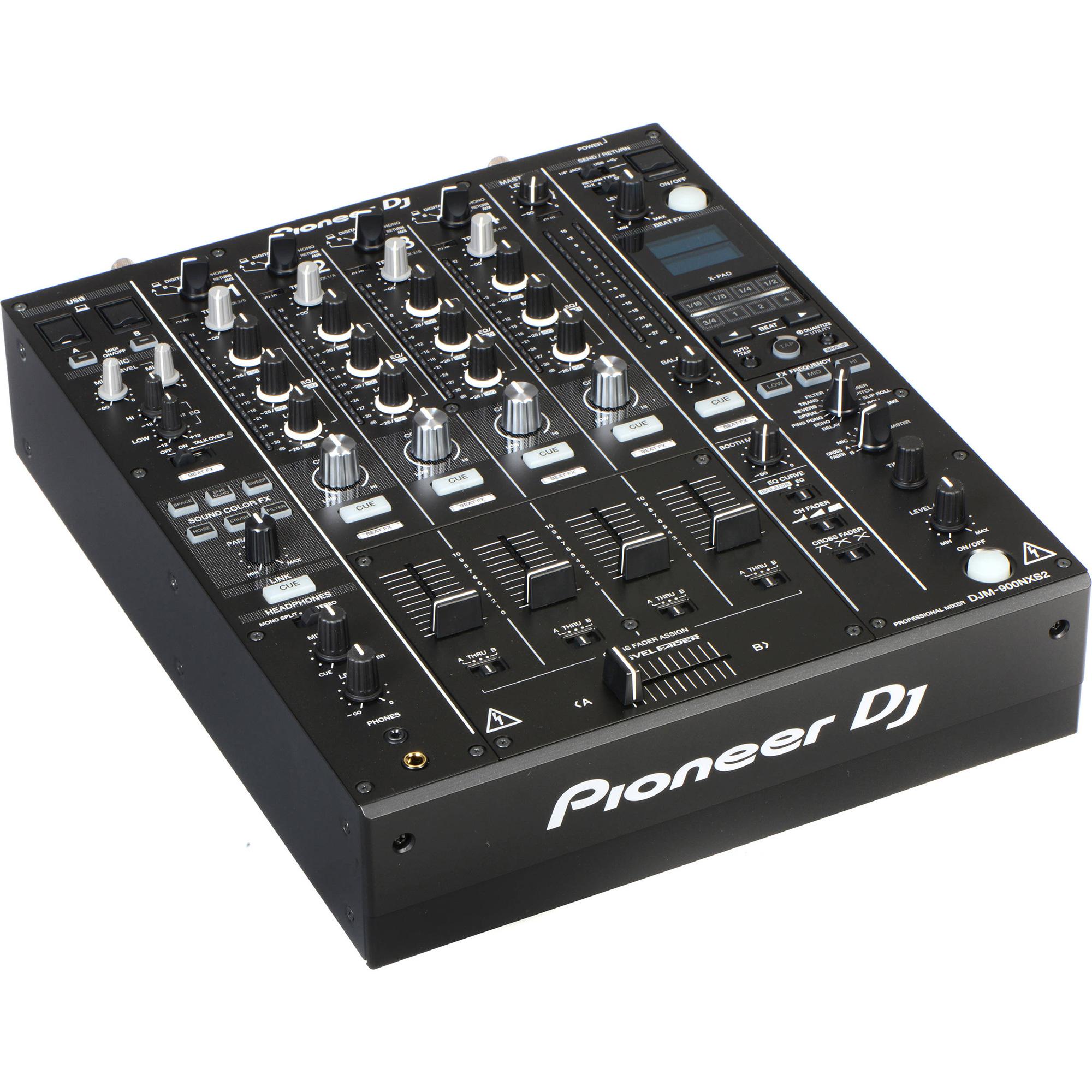 pioneer djm900nxs2 4 channel digital prodj mixer