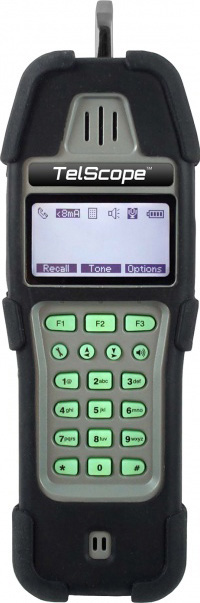 Platinum Tools TLA300-1 Tel Scope Telco Line Analyzer with Angled Bed of Nails / Piercing Clip Cord Set & RJ Plug  TLA300