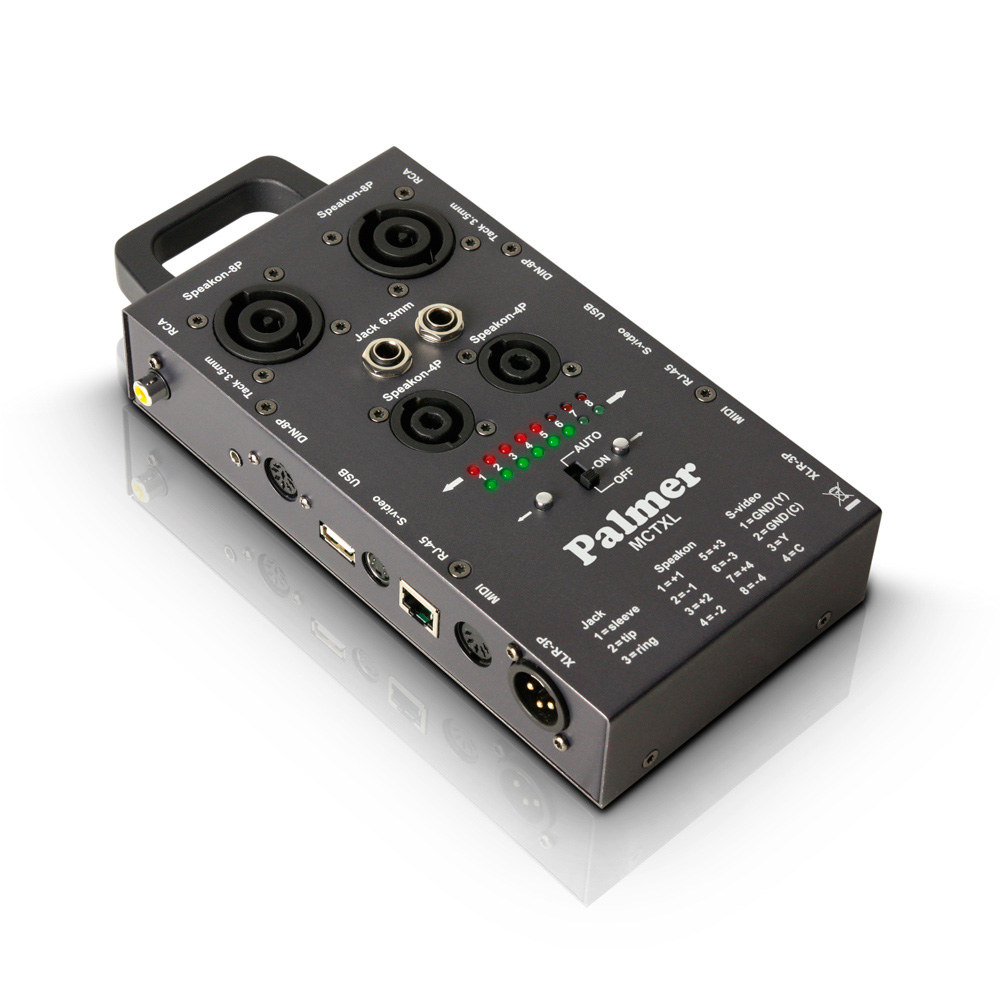Audio Cable Tester : Palmer audio ahmctxl cable tester