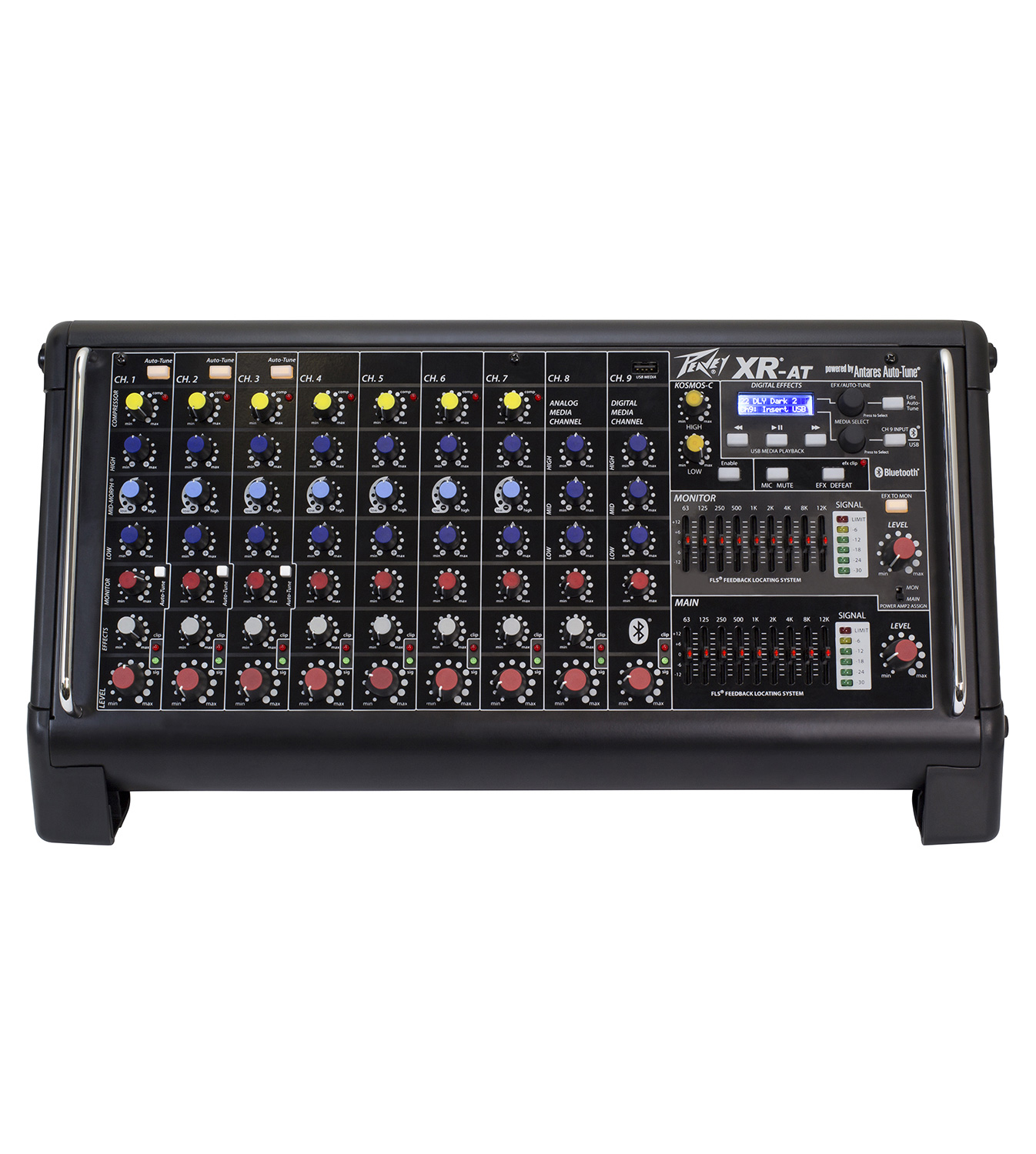 peavey xr at powered mixer