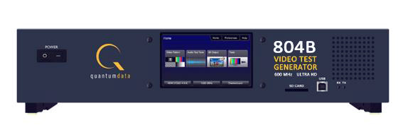 Quantum Data 804B 4K Video Test Generator with HDMI 2 0 and HDCP 2 2 Support